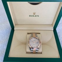 Rolex Or rose Remontage automatique occasion Datejust II