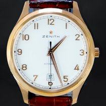 Zenith Captain Central Second Or rose 40mm Argent Arabes