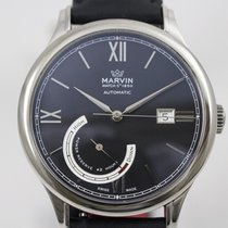 Marvin Steel 42mm Automatic 31A1205 pre-owned