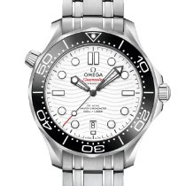 Omega Seamaster Diver 300 M Steel 42mm White United States of America, Florida, Boca Raton