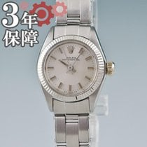 Rolex White gold Automatic 25mm pre-owned Oyster Perpetual 26