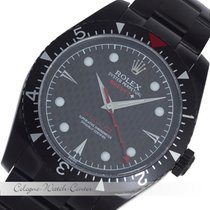 Rolex Milgauss DLC Brevet + Stahl 116400