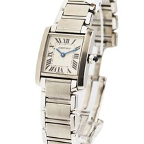 Cartier W51008Q3 Tank Francaise Small Size in Steel - on Steel...