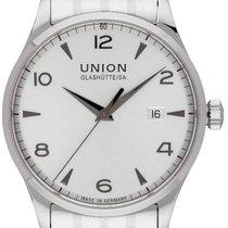Union Glashütte Noramis Date Otel 40,00mm Argint