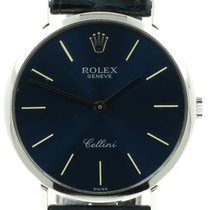 "Rolex ""Cellini Gents"" Handwound. 18K white gold"