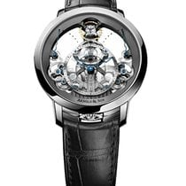 Arnold & Son Time Pyramid Steel Watch