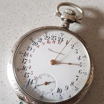 21 Chronometer - pocket watch with 24 hour dial - patent 28109...