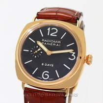 Panerai Radiomir PAM 00197 8 Day 18K Rose I Series
