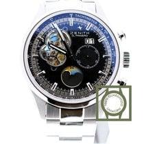 Zenith El Primero Chronomaster open Grande date black dial