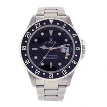 Rolex Men's Rolex GMT Master II 16710 Stainless Steel...