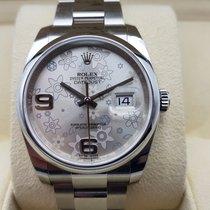 Rolex Datejust Acero 36mm Plata Árabes