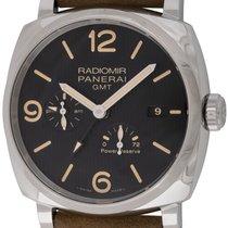 Panerai : Radiomir 1940 3 Day GMT :  PAM 658 :  Stainless...