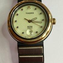 Thorr 金/钢 31mm 石英 全新