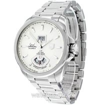 TAG Heuer Grand Carrera Staal 40mm Zilver