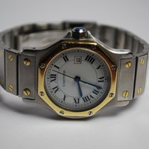 Cartier Santos Ronde Steel/Gold Automatic