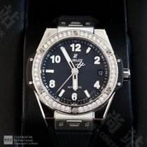 Hublot Big Bang Steel 39mm Black Arabic numerals