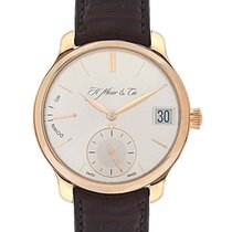 H.Moser & Cie. 40.8mm Manual winding new Endeavour Silver