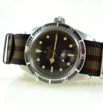 勞力士 6538 鋼 1958 Submariner (No Date) 38mm 二手