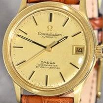 Omega Constellation Gelbgold 35mm Keine Ziffern Deutschland, Mannheim