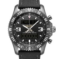 Breitling Chronospace Military Steel 46mm Black Arabic numerals