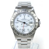 Rolex Automatic White 40mm pre-owned Explorer II