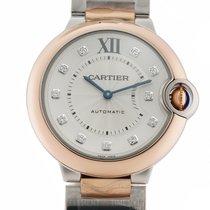 Cartier Ballon Bleu 36mm W3BB0007 new