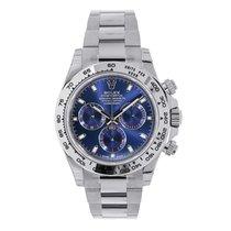 Rolex Daytona White gold 40mm Blue No numerals United States of America, New York, New York