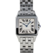 Cartier Santos Demoiselle Steel 26mm Silver Roman numerals United States of America, Maryland, Baltimore, MD