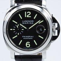Panerai Luminor Marina Automatic PAM00104 Veldig bra Stål Automatisk