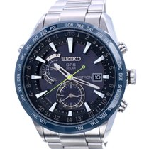 Seiko Astron GPS Solar Chronograph new 2017 Quartz Watch with original box and original papers SSE149J1