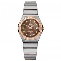 Omega Constellation Ladies Steel 27mm Mother of pearl United States of America, Florida, Miami
