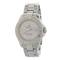 Rolex Yacht-Master 40 pre-owned 40mm Grey Steel