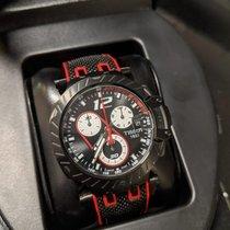 Tissot T-Race Steel 43mm Black Arabic numerals