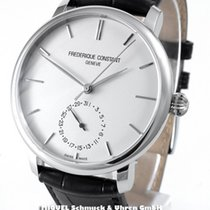 Frederique Constant Manufacture Slimline Staal 42mm Zilver