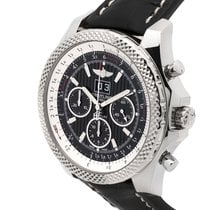 Breitling Bentley 6.75 Speed 49mm Black Royal Ebony Dial Croco...