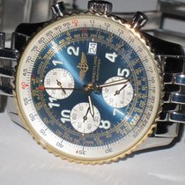 Breitling Old Navitimer Gold/Steel 42mm Blue Arabic numerals