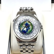 百達翡麗 5131/1P 950PT Platinum Men World Time Enamel 39.5mm [NEW]