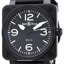 ベルアンドロス (Bell & Ross) Steel Rubber Automatic Mens Watch ...