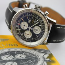 Breitling Montbrillant Olympus Stahl 43mm Schwarz Keine Ziffern Deutschland, Augsburg