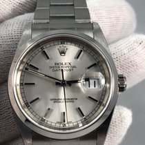Rolex Datejust stainless steel complete set