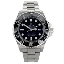 Rolex Sea-Dweller Deepsea Steel 44mm Black No numerals United States of America, New York, NYC
