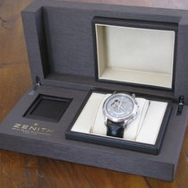 Zenith El Primero Chronomaster nouveau 2009 Remontage automatique Montre avec coffret d'origine et papiers d'origine 03.1260.4021