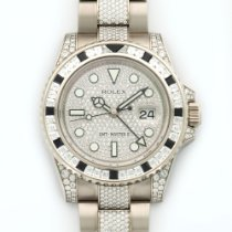 Rolex White Gold GMT-MASTER II Diamond Watch Ref. 116759