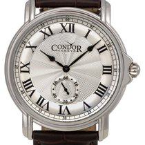 Condor Classic Stainless Steel Mens Strap Swiss Watch C225S