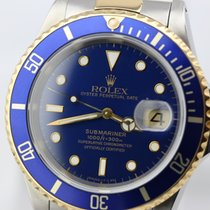 Rolex Submariner Date / blue purple dial nice condition