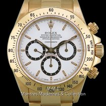 Rolex Daytona Yellow gold 40mm White No numerals