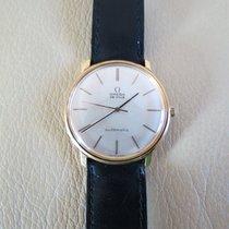 Omega De Ville Vintage 18K Gold 34mm Automatic Watch