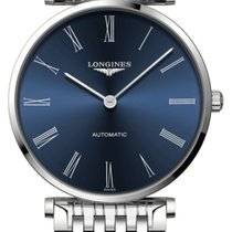 Longines La Grande Classique Steel 36mm Blue Roman numerals United Kingdom, Wilmslow