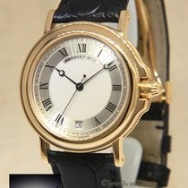 Breguet Marine pre-owned 35.5mm Yellow gold
