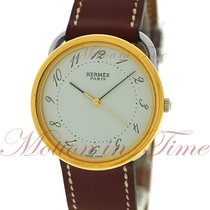 Hermès Arceau Steel 33mm White Arabic numerals United States of America, New York, New York